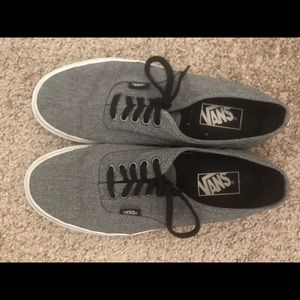 Like New Gray Vans